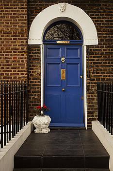 London Doorway by Andrew Soundarajan