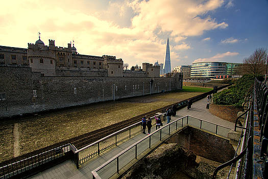 London England- Old and New by Russell Mancuso