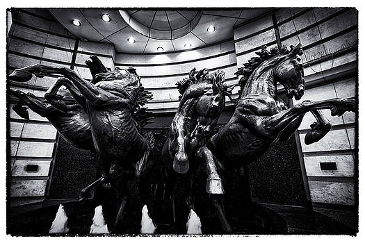 London England- The Horses of Helios by Russell Mancuso