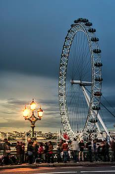 Thomas Gaitley - London Eye At Dusk