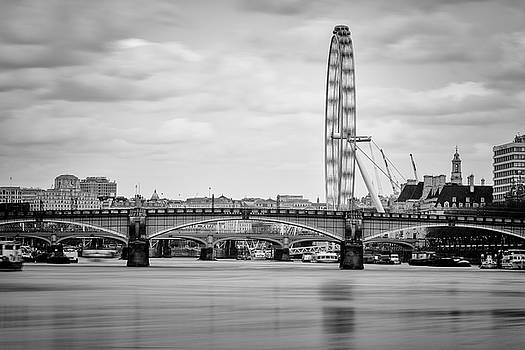 London Eye Long Exposure by Matt Malloy