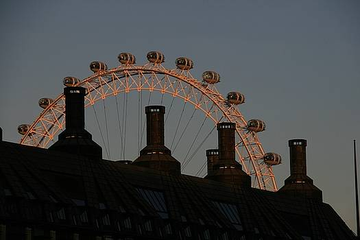 London Eye by Shana Sanborn