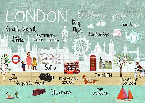 London I love you by Claudia Schoen