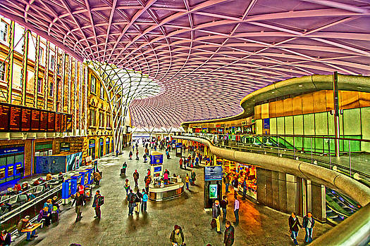 David French - London Kings Cross Station