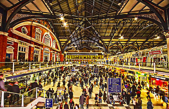 David French - London Liverpool Street Station