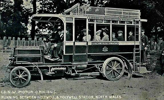Peter Ogden - London Northwestern Railway Company Motor Omnibus 1907