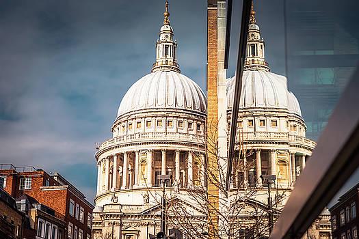 London reflections by Marius Comanescu