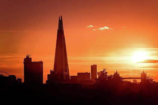 London Shard Sunset by Matt Malloy