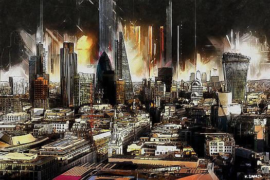 London Skyline by Kai Saarto