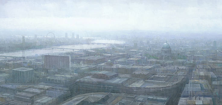 London Thames Cityscape by Steve Mitchell