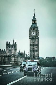 London Times by Evelina Kremsdorf