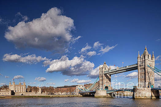 London Tower Bridge by Colin and Linda McKie
