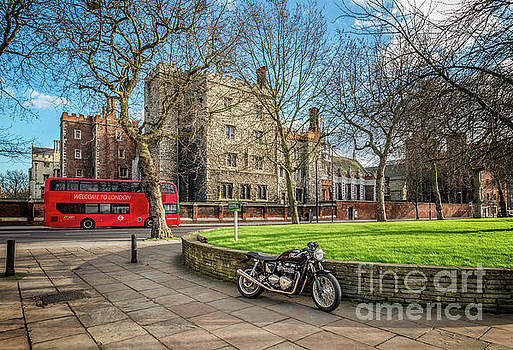 London Transport by Adrian Evans