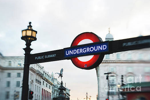 London Underground by Sonja Quintero