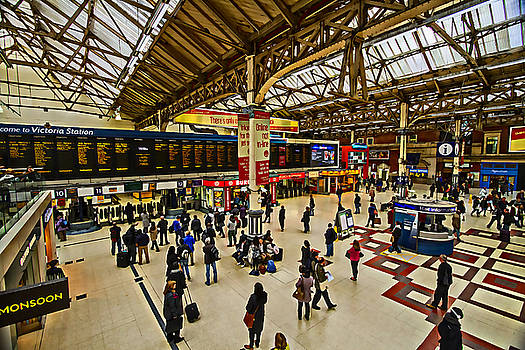 David French - London Victoria Station