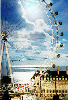 LondonEye Moonlight by Sonia Stewart