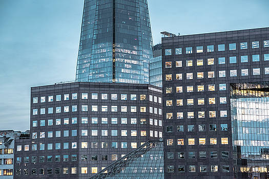 London's skyscrapers by Marius Comanescu