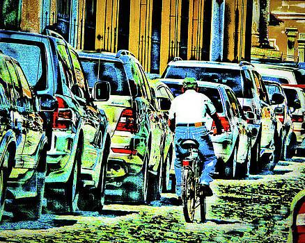 Lone Bicycle by Eye Browses