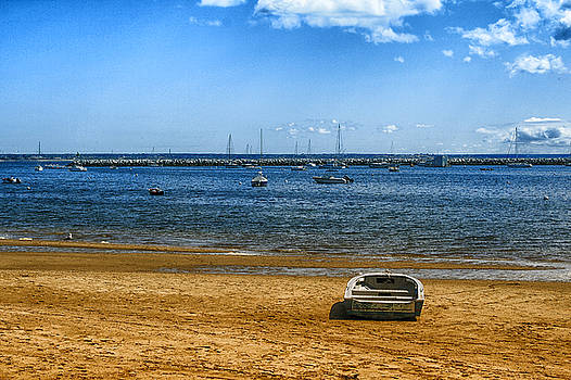 Lone Boat in Provincetown by Bill Barber