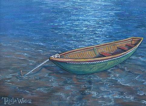 Lone Boat by Tanja Ware