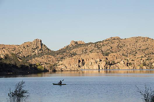 Lone Canoe by Laura Pratt
