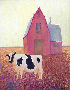 Lone Cow by John Pinkerton