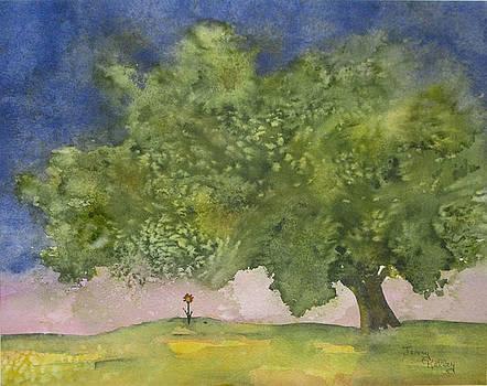 Lone Flower by Jerry Kelley
