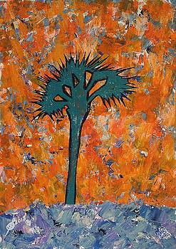 Lone Palmetto original painting by Sol Luckman