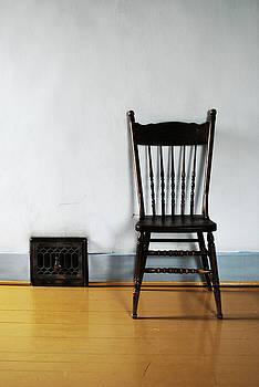 Lone Seat by Larysa  Luciw
