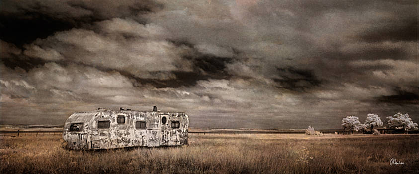Lone Trailer by Christine Hauber