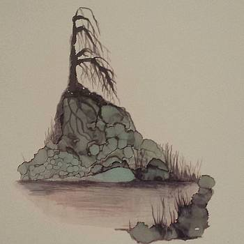 Lone Tree by Betsy Carlson Cross