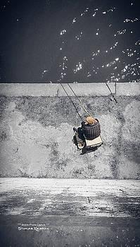Loneliness of a fisherman by Stwayne Keubrick