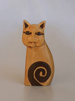 Lonely Cat by Marna Edwards Flavell