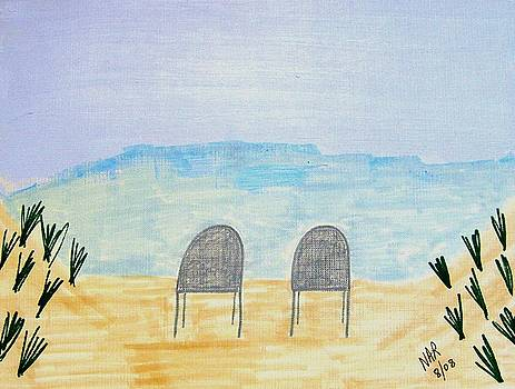 Lonely Chairs by Nick Roes