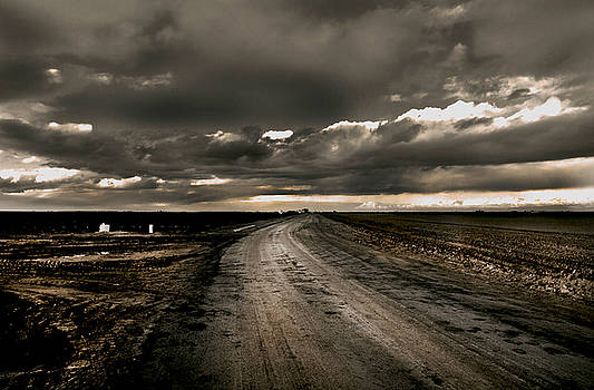 Lonely Country Road by Mark Hendrickson