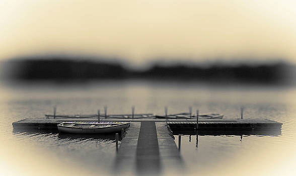 Lonely Jetty by Mark Denham
