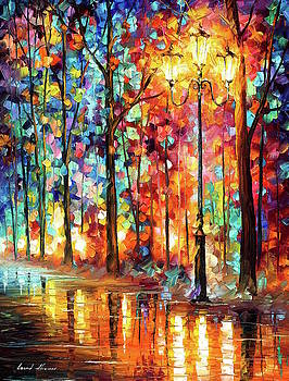 Lonely Light by Leonid Afremov