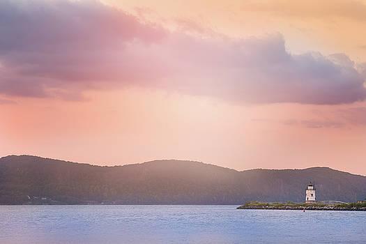 Lonely Lighthouse by Elvira Pinkhas