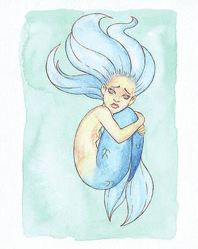 Lonely Mermaid - MerMay 2018 by Armando Elizondo