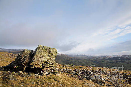 Lonely Norber Erratic by Gavin Dronfield