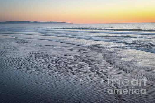 Lonely Pismo Sunset by Jeffrey Hubbard