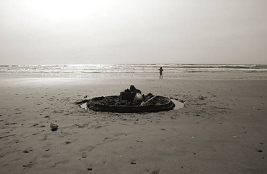 Kathi Shotwell - Lonely Sandcastle - Toned