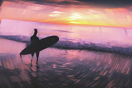 Lonely Surfer by Ericamaxine Price