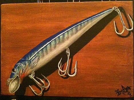 Long arm BOMBER....with broken hook by Aaron Druliner