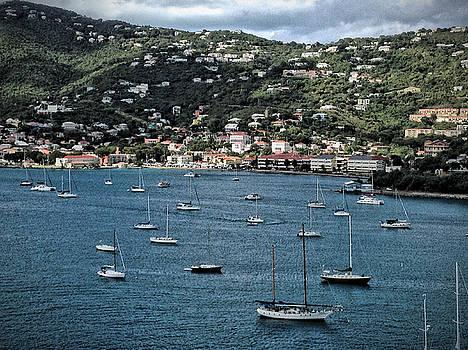 Long Bay, Charlotte Amalie, St. Thomas, USVI by Sydney Solis