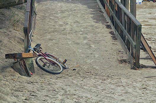 Long Beach Bike by Dennis Clark