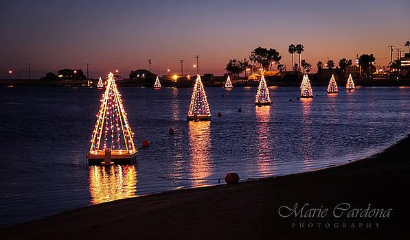 Long Beach Christmas  by Marie  Cardona