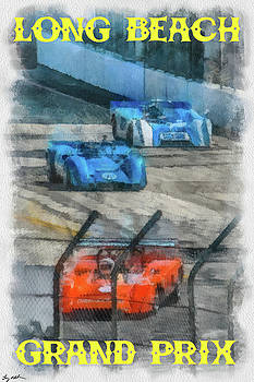 Long Beach Grand Prix Poster by Tommy Anderson