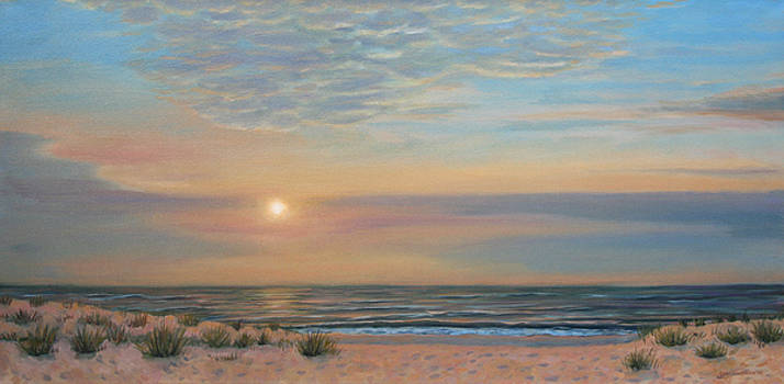 Long Beach Island Sunrise by Jane  Simonson