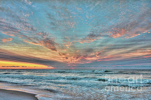 Long Beach Island Sunrise by Jeff Breiman